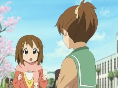 Ok ok, so it's not about the cake :P Yui's so sweet ^^