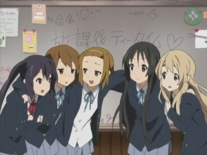 Yui, stupid people don't catch a cold... But then, it was Ritsu first so this must be a unique kind of cold.
