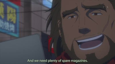 Yeah, ero magazines are a crucial war supply.