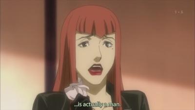 O_o Which part of Kuniko is okama, really?